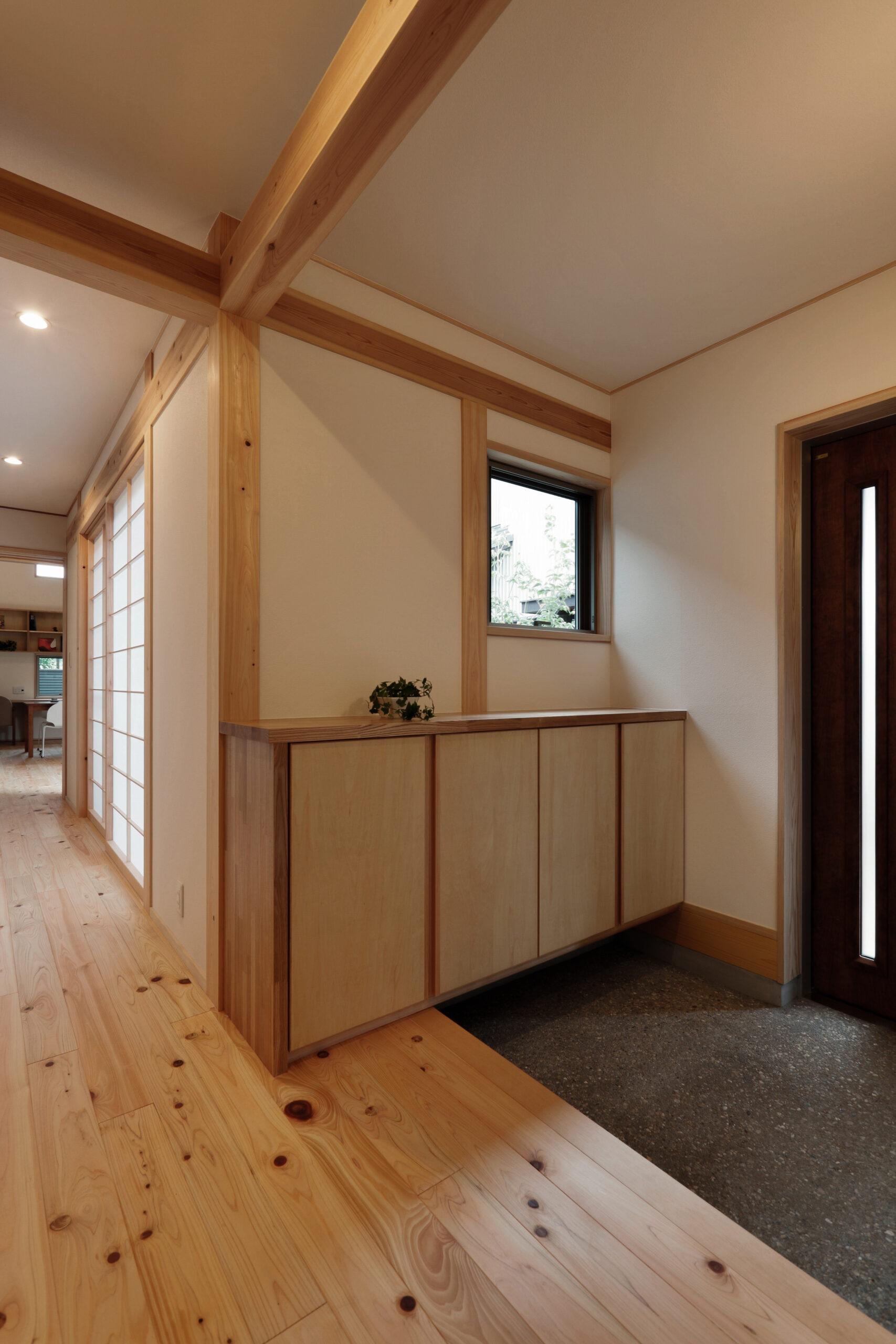 木の家 玄関 ローカ 和モダン